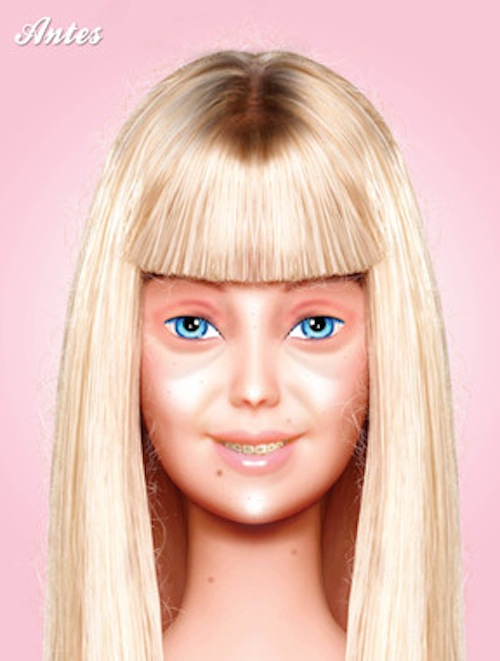 barbie before