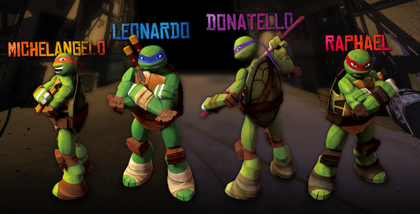 Teenage Mutant Ninja Turtles Characters - TMNT Characters - Nick.com
