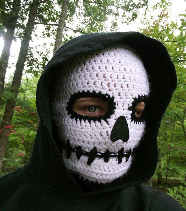 death-mask