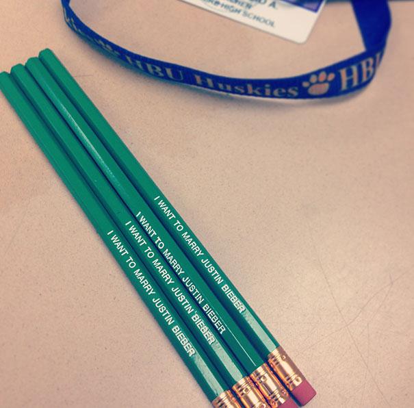 jb pencils